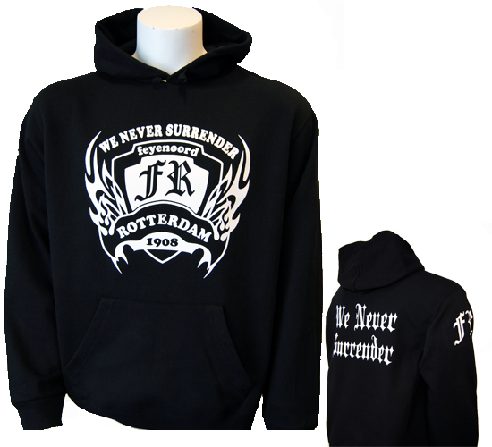 "(1) Hooded "" NO SURRENDER"""
